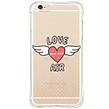 Shockproof Pattern Heart TPU Soft Case Back Cover For iPhone 6s Plus 6 Plus iPhone 6s 6 iPhone SE 5s 5