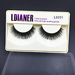 999 Eyelashes lash Full Strip Lashes Eyes Thick Volumized Handmade Animal wool eyelash Black Band 0.10mm 12mm