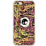 Para Funda iPhone 6 / Funda iPhone 6 Plus / Funda iPhone 5 Diseños Funda Cubierta Trasera Funda Dibujos Dura Policarbonato AppleiPhone 6s