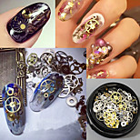 120pcs DIY Time Gear Steampunk Mechanical Manicure Decor Patch