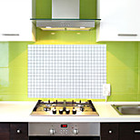 Wall Stickers Mosaic Kitchen Oil Proof Kitchen Oil Proof    (Random Colours)