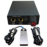 Solong tattoo New LCD Digital Tattoo Power Supply Foot Pedal  Clip Cord Kit P163-1