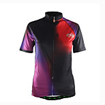 Sports Cycling Jersey Women's Short Sleeve Breathable /Front Zipper / Ultra Light Fabric /Comfortable Bike Jersey