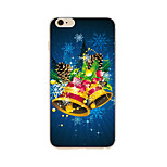 Para Funda iPhone 7 / Funda iPhone 6 / Funda iPhone 5 Diseños Funda Cubierta Trasera Funda Navidad Suave TPU AppleiPhone 7 Plus / iPhone