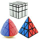 Shengshou® Cube velocidade lisa Alienígeno Espelhada / profissional Nível Alivia Estresse / Cubos Mágicos Prateada / Dourada Etiqueta lisa