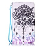For Sony Case Card Holder / Wallet / with Stand / Pattern Case Full Body Case Owl Hard PU Leather for Sony Sony Xperia XA / Sony Xperia E5