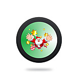 Wireless Charger for Samsung Qi Wireless Charging Pad 5V 2A Cartoon Merry Christmas Theme for Samsung Galaxy S6 S6 EDGE S7 S7 EDGE NOTE 5
