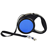 Leash Automatic Solid Nylon Plastic Blue