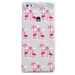 Flamingo Pattern High Permeability TPU Material Phone Case Hawei P9Lite P8Lite  Y5II  Y6II