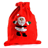 2PCS Christmas Gift Bag Santa Claus Bag Christmas Eve Gift Bag(Style random)