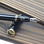 Hero Pen Hero 9215 Black For Her Fine Brush Tip Elbow Iridium Hard-Pen Office Pen
