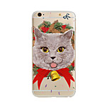 JDB® Lovely cat Pattern TPU Soft Case Cover for apple iPhone 7 7 Plus iPhone 6 6 Plus iPhone 5 5C iPhone 4
