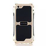 Per Custodia iPhone 6 / Custodia iPhone 6 Plus / Custodia iPhone 5 Acqua / Dirt / Shock Proof Custodia Custodia posteriore CustodiaTinta