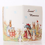 PVC fairy tale style Travel Passport Holder & ID Holder Waterproof / Dust Proof / Portable Travel Storage PU Leather