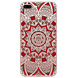 TPU Material Ethnic Pattern Hollow Phone Soft Shell for iPhone 7Plus 7 6s Plus 6 Plus 6S 6 SE 5S 5
