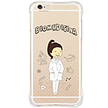 Shockproof Pattern Sexy Lady TPU Soft Case Back Cover For iPhone 6s Plus 6 Plus iPhone 6s 6 iPhone SE 5s 5