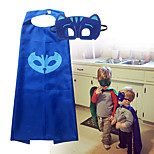 PJ Masks Costumes for Kids Catboy Owlette Gekko Mask with Cape (75*65cm)