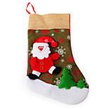 Flax Big Sock Santa Claus