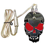 Solong Tattoo Professional Skull Stainless Steel Tattoo foot switch/pedal for Power Supply  P219-2