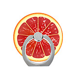 Phone Holder Stand Mount Desk / Outdoor Ring Holder / 360 Rotation Fruit Pattern for Mobile Phone