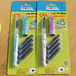 Liquid Exchange Straight Liquid Type Pen(24PCS)