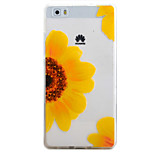 For HUAWEI P9 P8Lite Y5C Y6 Y625 Y635 5X 4X G8 Case Cover Color Chrysanthemum Pattern TPU Material Phone Shell