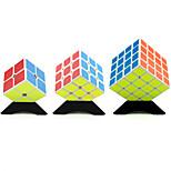 Yongjun® Cube velocidade lisa 2*2*2 / 3*3*3 / 4*4*4 Velocidade / profissional Nível Alivia Estresse / Cubos Mágicos Branco Etiqueta lisa