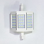 R7S 78mm 45x 3014SMD 6W Warm White / Cool White 600LM 220Beam Horizontal Plug Lights  Flood Light AC85-265V