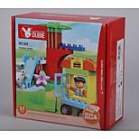 Puzzle Toy Pour cadeau Blocs de Construction Carré / Chiens / Automatique Plastique Au-dessus de 3 Arc-en-ciel Jouets