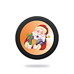 Wireless Charger for Samsung Qi Wireless Charging Pad 5V 2A Christmas Theme for Samsung Galaxy S6 S6 EDGE S7 S7 EDGE HTC 8X LG Nexus4