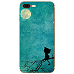 Night Sky Pattern TPU Material Back Cover for for iPhone 7 Plus / iPhone 7