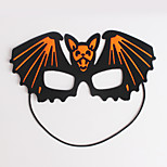 (Pattern is Random)1PC Hallowmas  Mask  Stick Costume Party