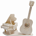 Jigsaw Puzzles Wooden Puzzles Building Blocks DIY Toys Musical Instruments 1 Wood Ivory Puzzle Toy