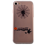 Halloween Pattern High Permeability TPU Material For iPhone 7 7Plus 6S 6Plus