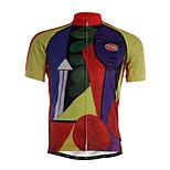 Sportivo Maglia da ciclismo Per uomo Maniche corte BiciclettaTraspirante / Asciugatura rapida / Zip anteriore / Morbido / Comodo /