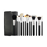 13 Makeup Brushes Set Horse / Goat Hair / Synthetic Hair Professional / Portable Wood Face / Eye / Lip