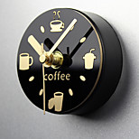Creative Wall Clock Leisure Time Clock Refrigerator Magnets Message Posted Withdrawing Watch Fridge Magnet Mute Alarm Clock