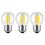 KWB 3PCS 6W E26/E27 LED Filament Bulbs G45 6 COB 560 lm Warm White (220V-240V)
