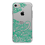 Per Fantasia/disegno Custodia Custodia posteriore Custodia Design di pizzo Morbido TPU AppleiPhone 7 Plus / iPhone 7 / iPhone 6s Plus/6