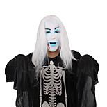 (Patrón es aleatorio) 1pc máscara de Halloween adornos del festival