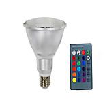 10W E26/E27 Lâmpada de LED Smart PAR30 10 SMD 5050 800 lm Branco Quente / Branco Frio / RGB Controle Remoto / Sensor / Decorativa V 1 pç