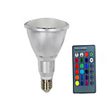10W E26/E27 Slimme LED-lampen PAR30 10 SMD 5050 800 lm Warm wit / Koel wit / RGB Op afstand bedienbaar / Sensor / Decoratief V 1 stuks