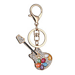 Europe And The United States New Realistic Guitar Key Chain Guitar Key Chain Bag Car Key Pendant Valentine's Day Gift Factory Direct Sales