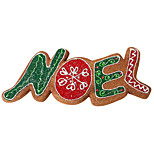Letter Brown Foam Ornament