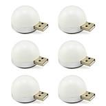 USBは、デスクノートランプ6個を読み取るための光5Vの電球を導きました