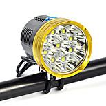 Налобные фонари Ремешок для налобного фонаря огни безопасности LED 18000 Люмен 1 Режим Cree XM-L T6 18650Угловой фонарь Очень легкие