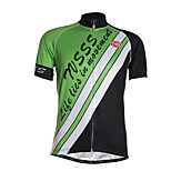 Sports Cycling Jersey Men's Short Sleeve Breathable / Quick Dry / Front Zipper / Wearable / Soft / Comfortable Bike