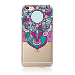Para Traslúcido / Diseños Funda Cubierta Trasera Funda Mandala Suave TPU AppleiPhone 7 Plus / iPhone 7 / iPhone 6s Plus/6 Plus / iPhone