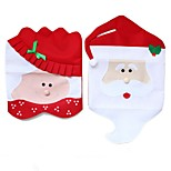 Europe And America Hot Selling Santa Chair Covers Table Decoration Gift For Christmas Novelty Dinner Chair Cap