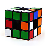 Shengshou Magic Cube Alien Professional Level Smooth Speed Cube Black / White Smooth Sticker Feng
